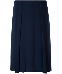 Cedric Charlier | Cédric Charlier Pleated Detail Skirt 42 Polyester