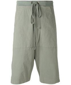 Lost & Found Rooms | Sage Drop-Crotch Shorts Size Small