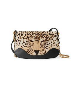 Gucci | Leopard Print Shoulder Bag