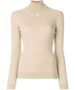 Courreges | Ribbed Knitted Top Women 4