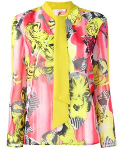 Versace Collection | Print Blouse 42 Polyester