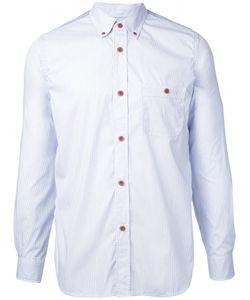 JUNYA WATANABE COMME DES GARCONS | Junya Watanabe Comme Des Garçons Man Back Print Button-Down Shirt