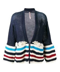 Antonio Marras | Embellished Striped Cardigan Size Xs