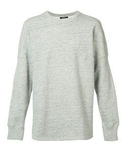 Denham | Curved Hem Sweatshirt Xl Cotton/Spandex/Elastane
