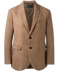 Neil Barrett | Leather Blazer Large Lamb Skin/Cupro