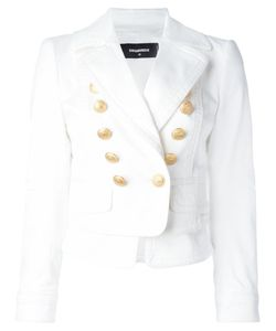 Dsquared2 | Laye Double Breasted Blazer 40 Cotton/Spandex/Elastane/Polyester/Viscose