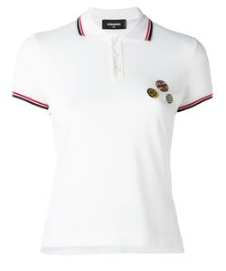 Dsquared2 | Pin Detail Polo Shirt Size Small