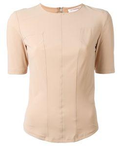 A.F.Vandevorst | Back Zip T-Shirt 38 Polyamide/Spandex/Elastane