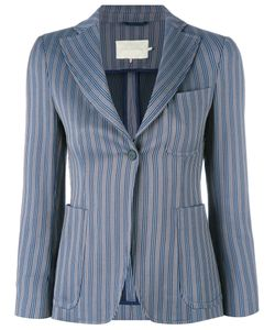 L' Autre Chose | Lautre Chose Striped Blazer 44 Cotton/Spandex/Elastane/Cupro
