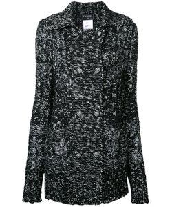 Chanel Vintage | Ворсистое Вязаное Пальто