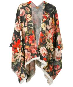 ERMANNO GALLAMINI | Rose Print Oversized Jacket
