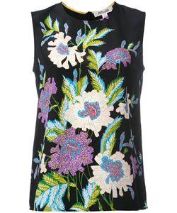 Diane Von Furstenberg | Print Sleeveless Blouse Size Medium