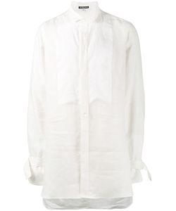 Ann Demeulemeester | Brushed Long Sleeve Shirt Medium Hemp