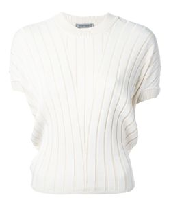 SportMax | Ribbed Knit T-Shirt S