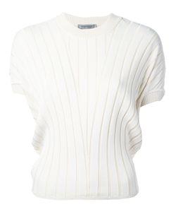 SportMax | Ribbed Knit T-Shirt S