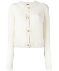 Miu Miu | Pearl Button Cardigan Size 42