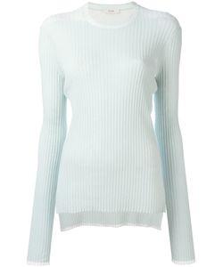 Céline   Ribbed Long Sleeve T-Shirt Size Medium