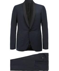 Lanvin | Contrast Tone Tuxedo Jacket 48 Silk/Polyester/Cupro/Wool