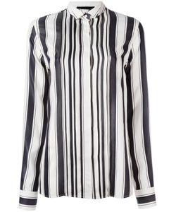 Haider Ackermann | Concealed Fastening Striped Shirt 40 Silk/Cotton