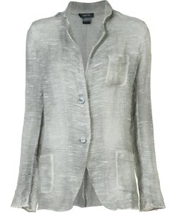 Avant Toi | Knit Blazer Large Cotton/Linen/Flax