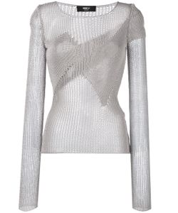 Yang Li | Open-Knit Top
