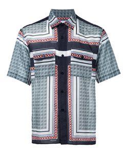 Yoshio Kubo | Printed Short-Sleeve Shirt