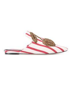 SANAYI 313 | Cherry Appliqué Slippers