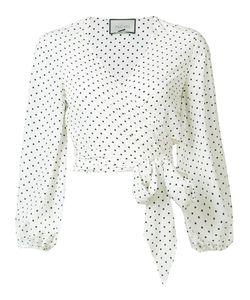 Alexis | Nirav Wrap Blouse Small Polyester
