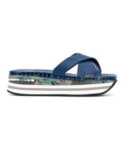 Premiata | Platform Flip Flops Size 40