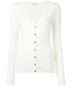 Versace Collection | V-Neck Cardigan 46 Viscose/Polyester