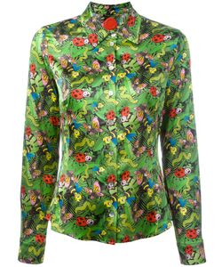 Ultràchic | Insect Print Buttoned Blouse 46