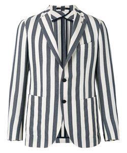 Tagliatore | Striped Blazer Size 48