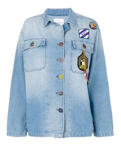Mira Mikati | Denim Patch Jacket Women