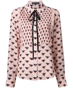Markus Lupfer | Bee Allover Print Shirt Large Silk