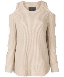 ZOE JORDAN | Shoulder Slits Pullover Women