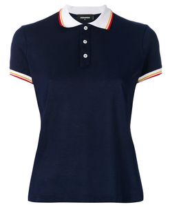 Dsquared2 | Contrast Collar Polo Top