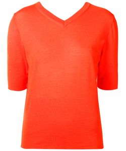 Nehera | V-Neck Knitted Top Size Small