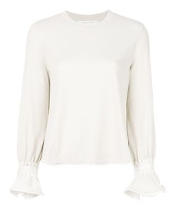 See By Chloe | Embroidered Flared Blouse