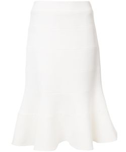 Carolina Herrera | Trumpet Skirt 8 Silk/Wool
