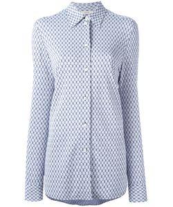 Céline   Slim-Fit Patterned Shirt Size 36