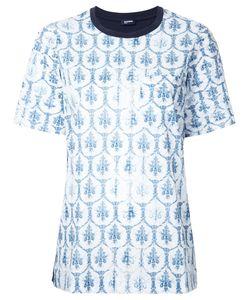Jil Sander Navy | Print T-Shirt Size 40