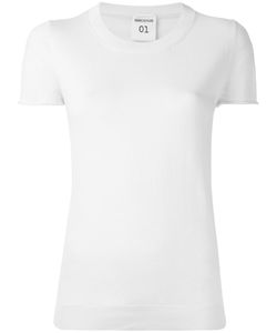 Semicouture   Alton Knitted T-Shirt Large Cotton