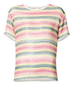 Ashish | Beaded Striped T-Shirt