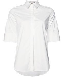 Carolina Herrera | Three Quarter Sleeve Pintucked Shirt