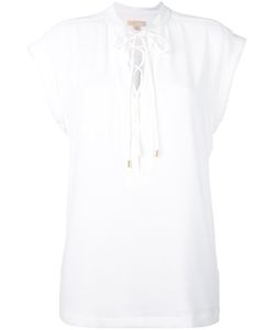 Michael Michael Kors | Lace Up Blouse