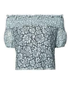 Zac Zac Posen | Sabine Lace Blouse Medium Polyester/Polyester