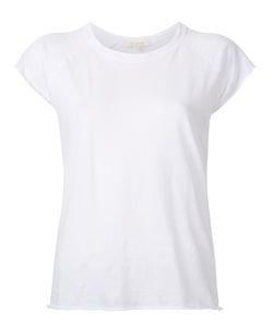 Nili Lotan | Ripped Sleeves T-Shirt Small Cotton