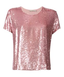 Amen   Sequined T-Shirt 42 Viscose/Polyester