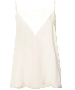 ANINE BING | Lace Trim Cami Top Xs Silk