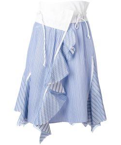 Sacai | Paperbag Waist Striped Skirt Size 4